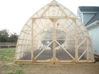 The bow roof shed made of white pine and greenhouse plastic Gothic Arch Greenhouse Plans Designs on quonset greenhouse plans, glass greenhouse plans, storage greenhouse plans, a-frame greenhouse plans, basic greenhouse plans, garden arch plans, underground greenhouse plans, home greenhouse plans, pit greenhouse plans, gothic style greenhouse plans, inexpensive two-story house plans, attached greenhouse plans, best greenhouse plans, earth sheltered greenhouse plans, unique greenhouse plans, barn greenhouse plans, vintage greenhouse plans, cheap greenhouse plans, diy greenhouse plans, japanese greenhouse plans,