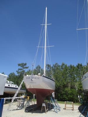 Installing new standing rigging, DIY standing rigging, rigging and offshore sailboat.